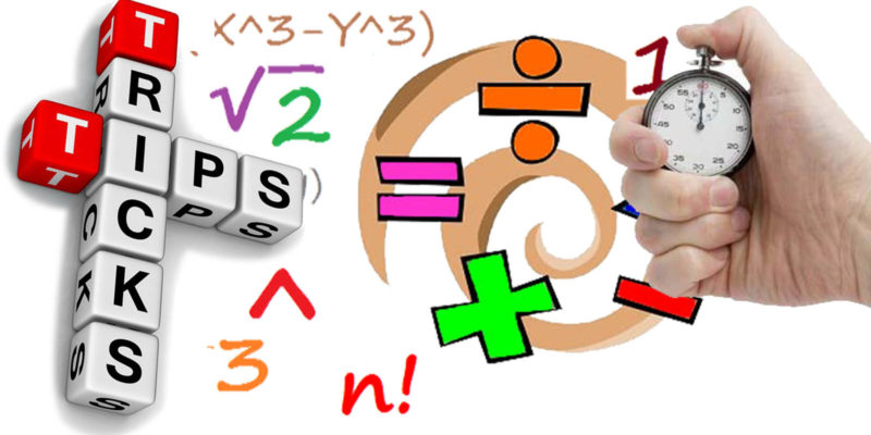 Maths Tricks, Formulas, Examples Exercises for SSC, Bank